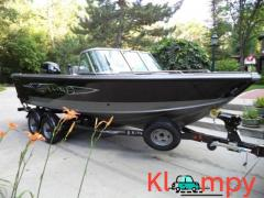 2010 Lund Tyee 1900 Trailer Included Fish and SKi 150XL 4S