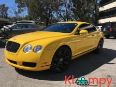 2007 Bentley GT Coupe Hot Yellow Continental GT