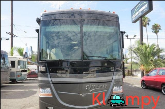 2007 Fleetwood Discovery Diesel 4 Slide Outs 39L - 2/12