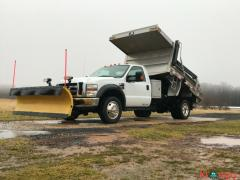 2010 Ford F-450 xl dump bed plow