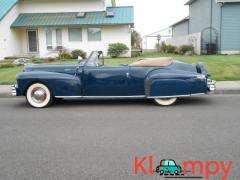 1948 Lincoln Continental Convertible V 12 Engine