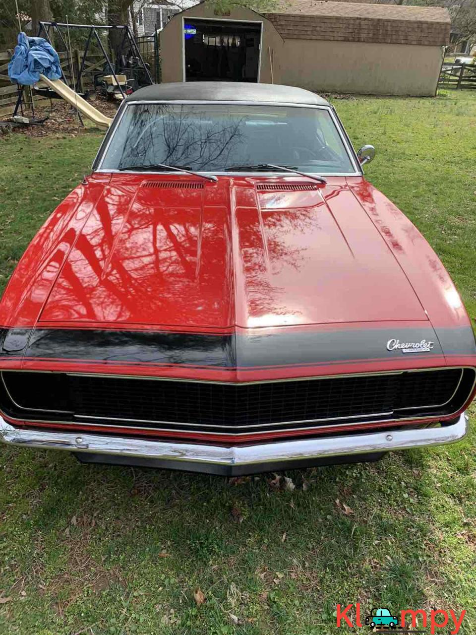 1967 Chevrolet Camaro RS Red RWD - 2/20