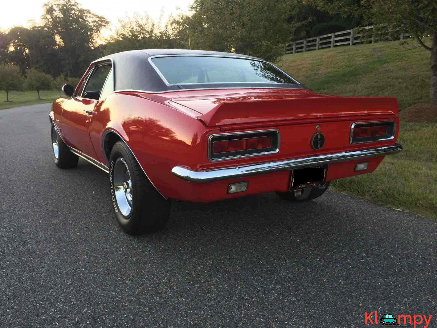 1967 Chevrolet Camaro RS Red RWD - 6/20