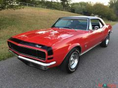 1967 Chevrolet Camaro RS Red RWD - Image 18/20