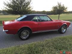 1967 Chevrolet Camaro RS Red RWD - Image 19/20