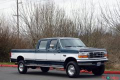 1997 FORD F-350 CREW CAB LONG BED 4WD 7.3L - Image 1/20