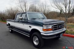 1997 FORD F-350 CREW CAB LONG BED 4WD 7.3L - Image 8/20