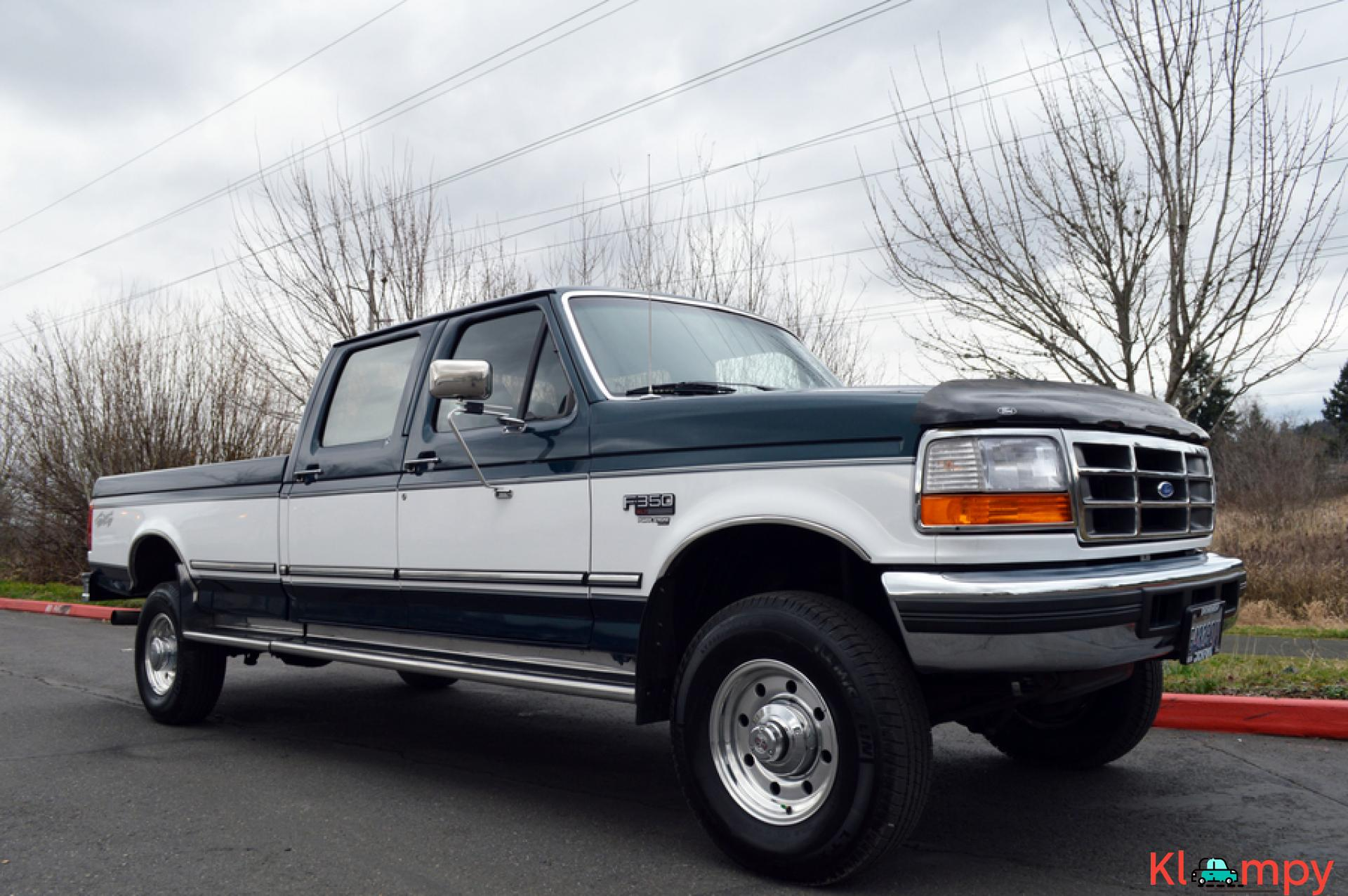 1997 FORD F-350 CREW CAB LONG BED 4WD 7.3L - 9/20