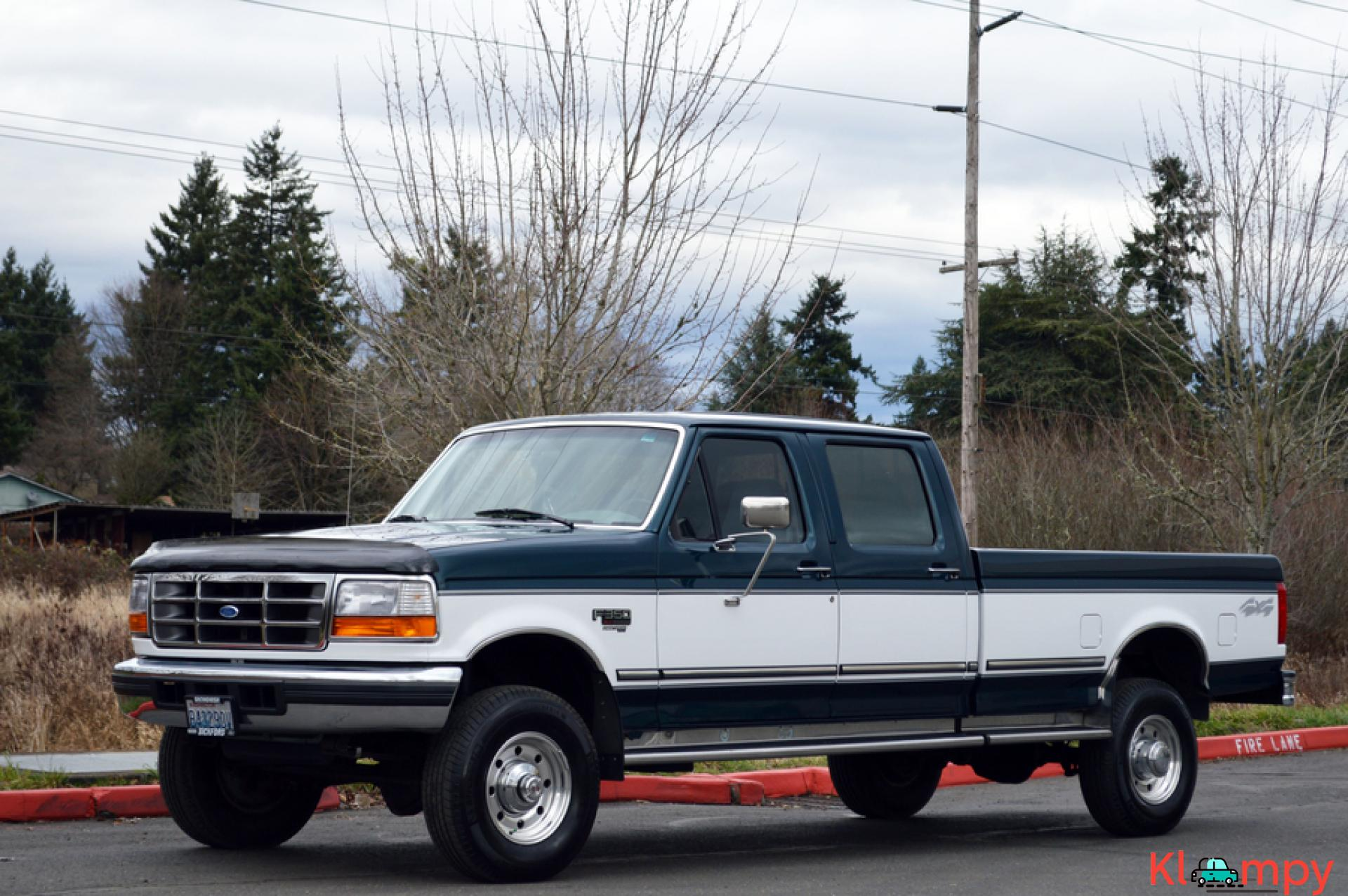 1997 FORD F-350 CREW CAB LONG BED 4WD 7.3L - 11/20