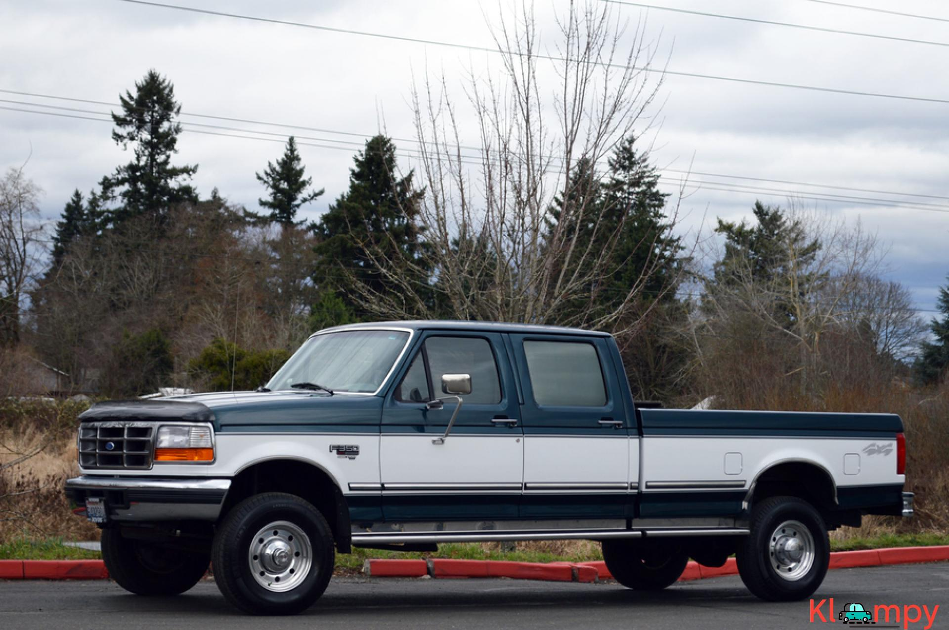 1997 FORD F-350 CREW CAB LONG BED 4WD 7.3L - 12/20