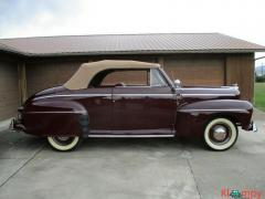 1946 Ford Supper Deluxe Convertible Restored