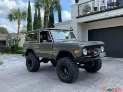 1973 Ford Bronco 302 V8 Manual Shift 8 Cylinders