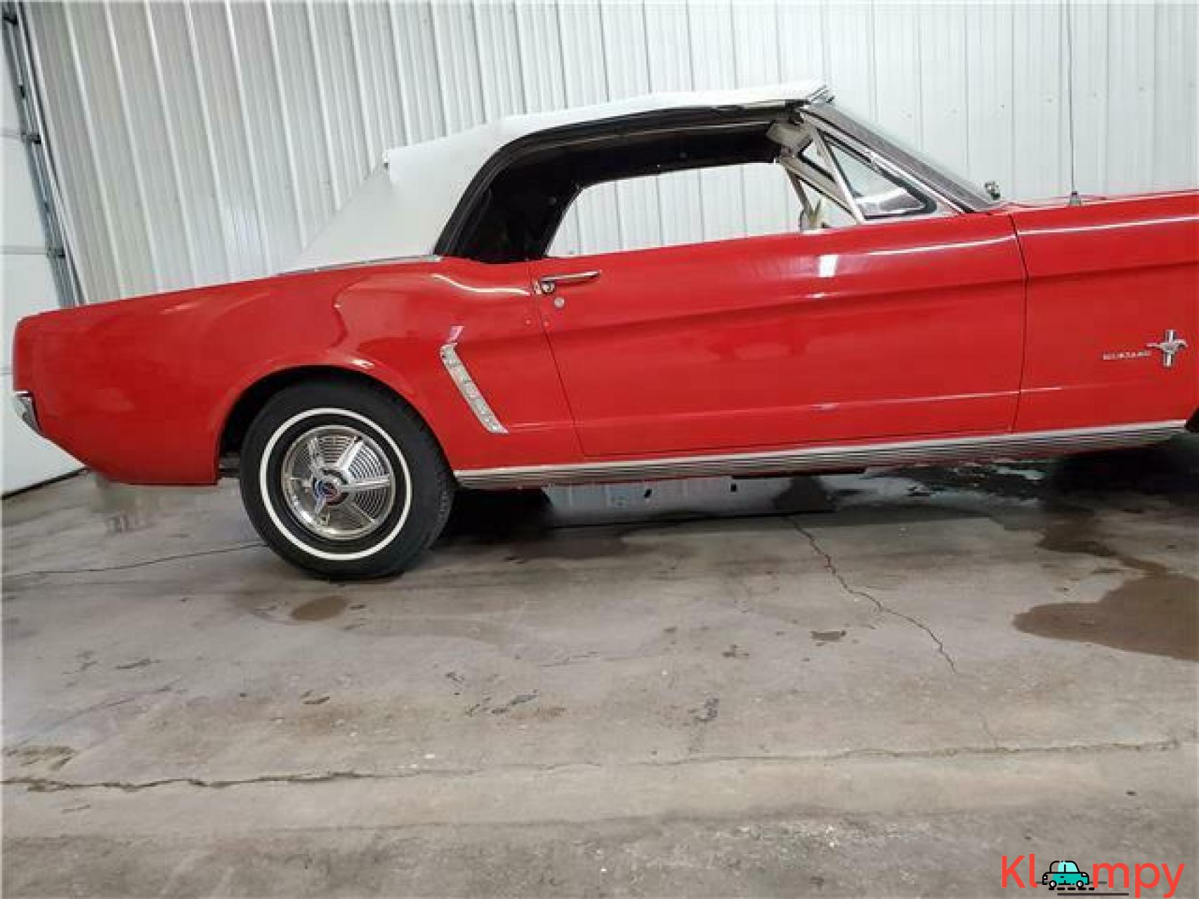 1965 Ford Mustang Rear Wheel Drive - 5/20