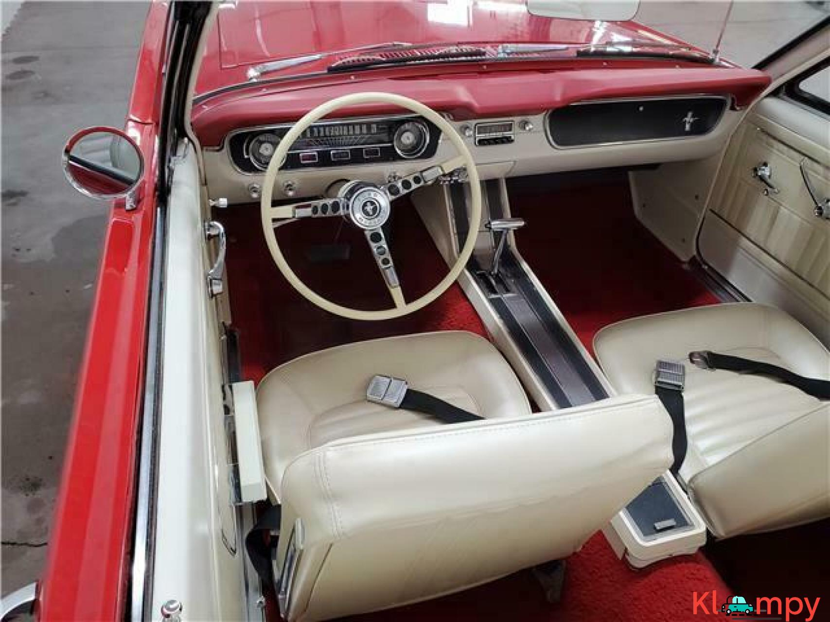1965 Ford Mustang Rear Wheel Drive - 8/20
