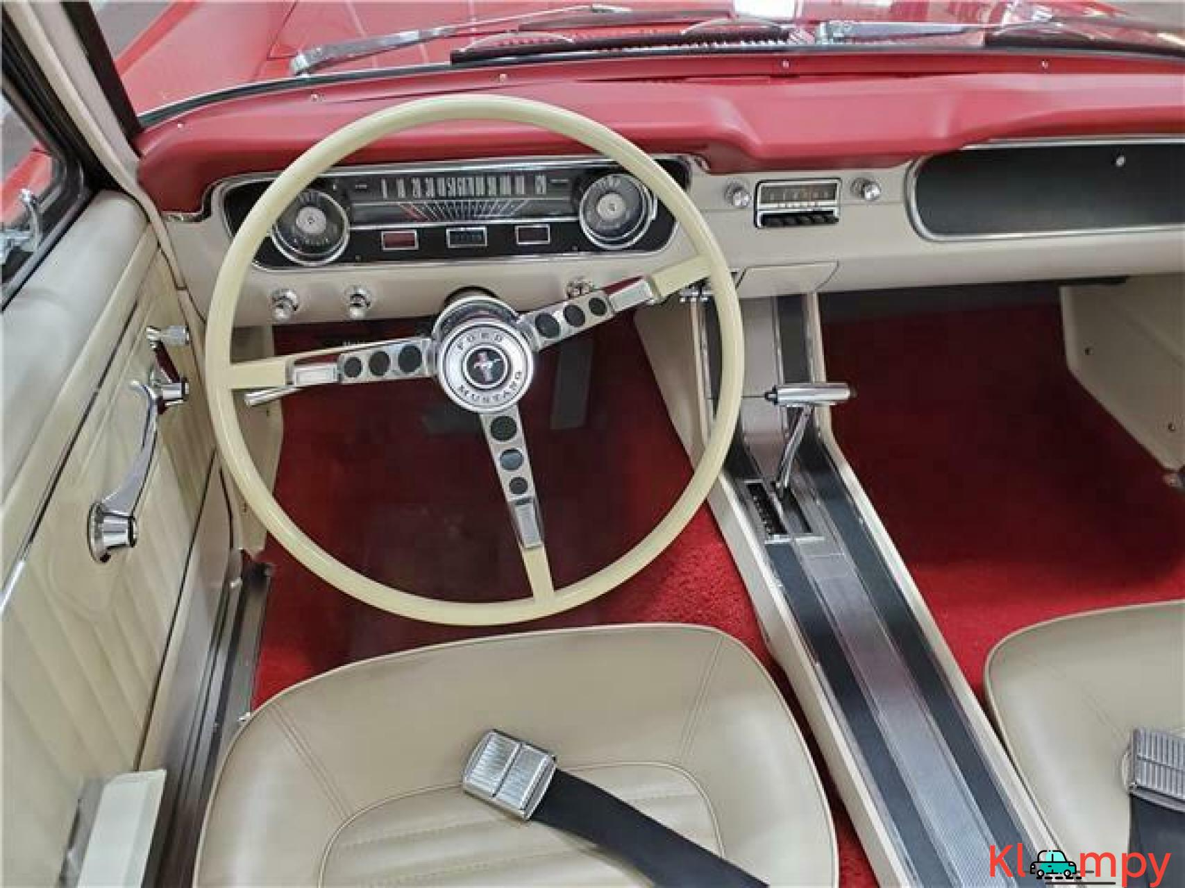 1965 Ford Mustang Rear Wheel Drive - 9/20