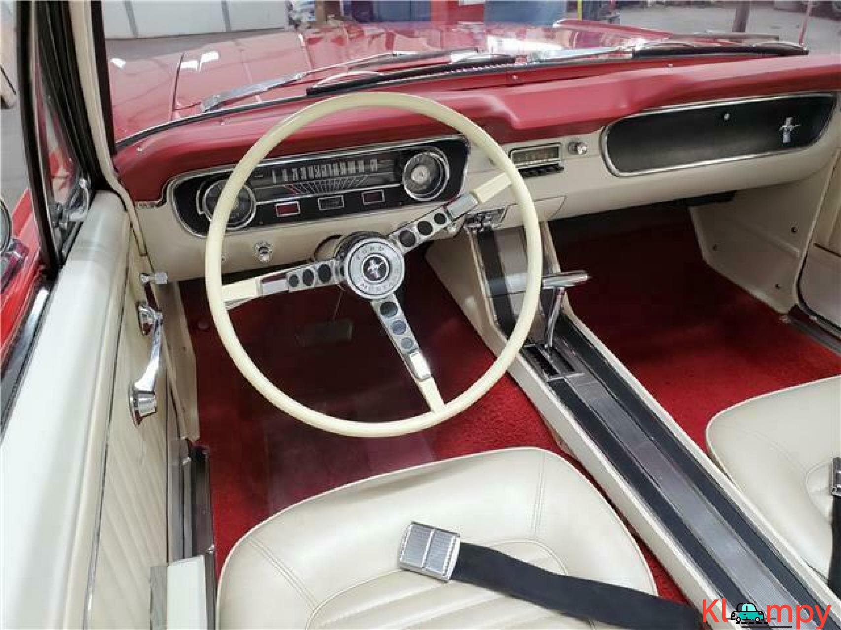 1965 Ford Mustang Rear Wheel Drive - 12/20