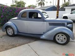 1936 Ford 5 Window Coupe Hot Rod Model 68