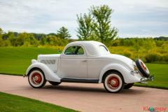 1935 Ford Model 48 Very Rare All Steel 3 Window Coupe