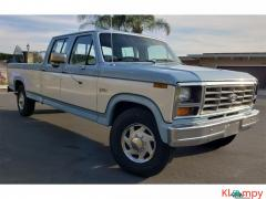 1984 Ford F350 XLT Crew Cab Light Blue