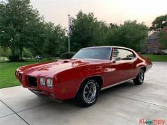 1970 Pontiac GTO True MATCHING NUMBERS