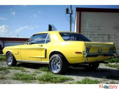 1968 Ford Mustang Meadowlark Yellow