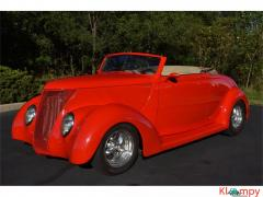 1937 Ford Cabriolet Downs