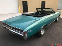 1967 Chevrolet Chevelle SS convertible 396 auto new top