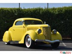 1936 Ford 3-Window Coupe 350 Chevy