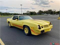1980 Chevrolet Camaro Yellow