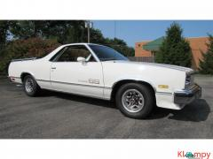 1984 Chevrolet El Camino upgraded 350