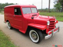 1950 Willys Utility Wagon MATCHING NUMBERS