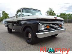 1964 FORD F100 TOP-OF THE LINE SHOW TRUCK RESTORED CUSTOM CAB
