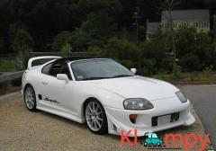 1994 Toyota Supra Turbo Electronic Fuel Injection 6-Speed Manual
