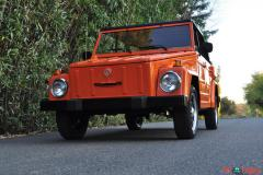 1974 Volkswagen Thing 1.6L Orange