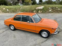 1972 BMW 2002 2.0 Inka Orange