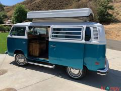1975 Volkswagen Transporter Custom Campmobile 21 VW Transporter