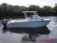 2002 Sea Pro 25 W A Tourament Series Twin Yamaha 115 4-stroke