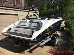 2015 Yamaha AR192 Jet Boat with Trailer Supercharged 19 Feet