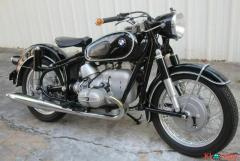 1961 BMW R50S Custom 330 Miles Black 4 Automatic