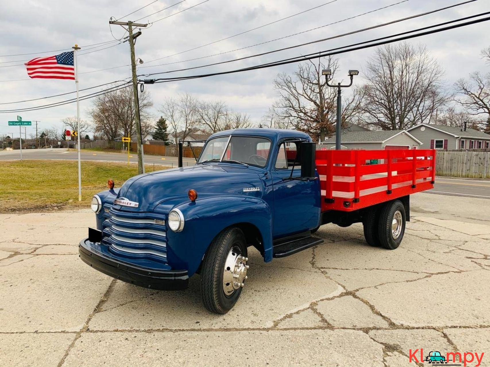 1951 Chevrolet Flat Bed Truck 235  6 CYL - 1/20