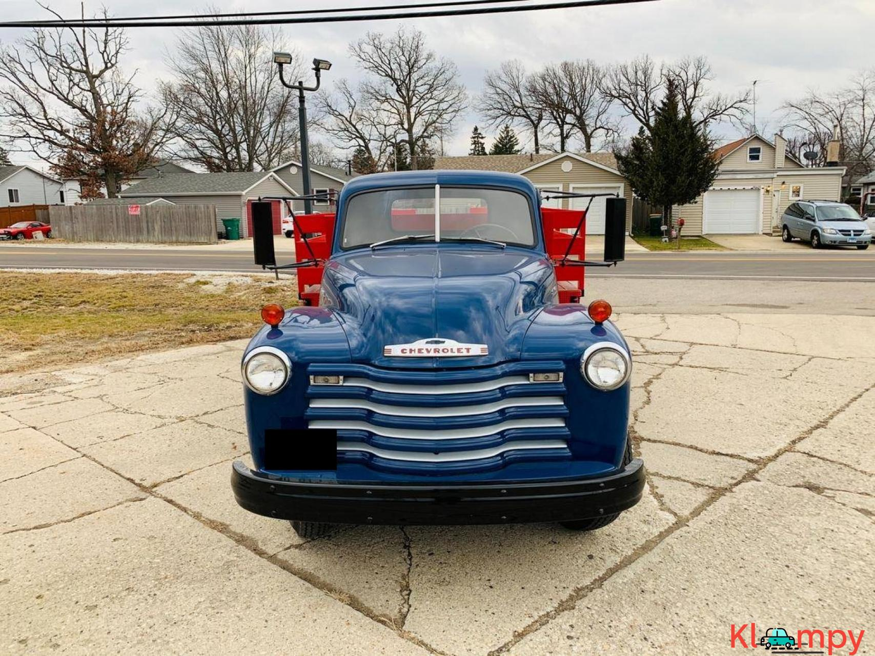 1951 Chevrolet Flat Bed Truck 235  6 CYL - 2/20