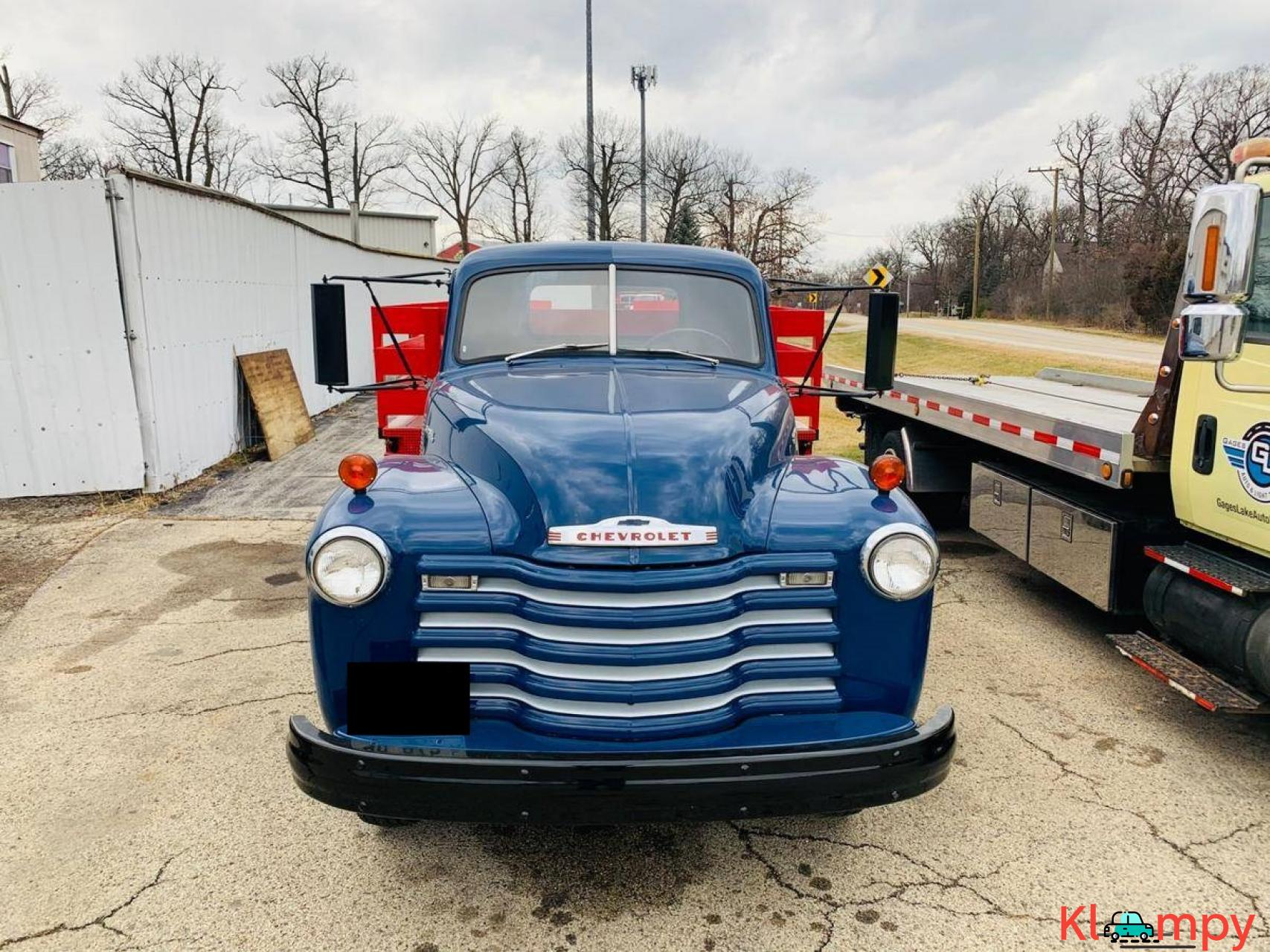1951 Chevrolet Flat Bed Truck 235  6 CYL - 6/20