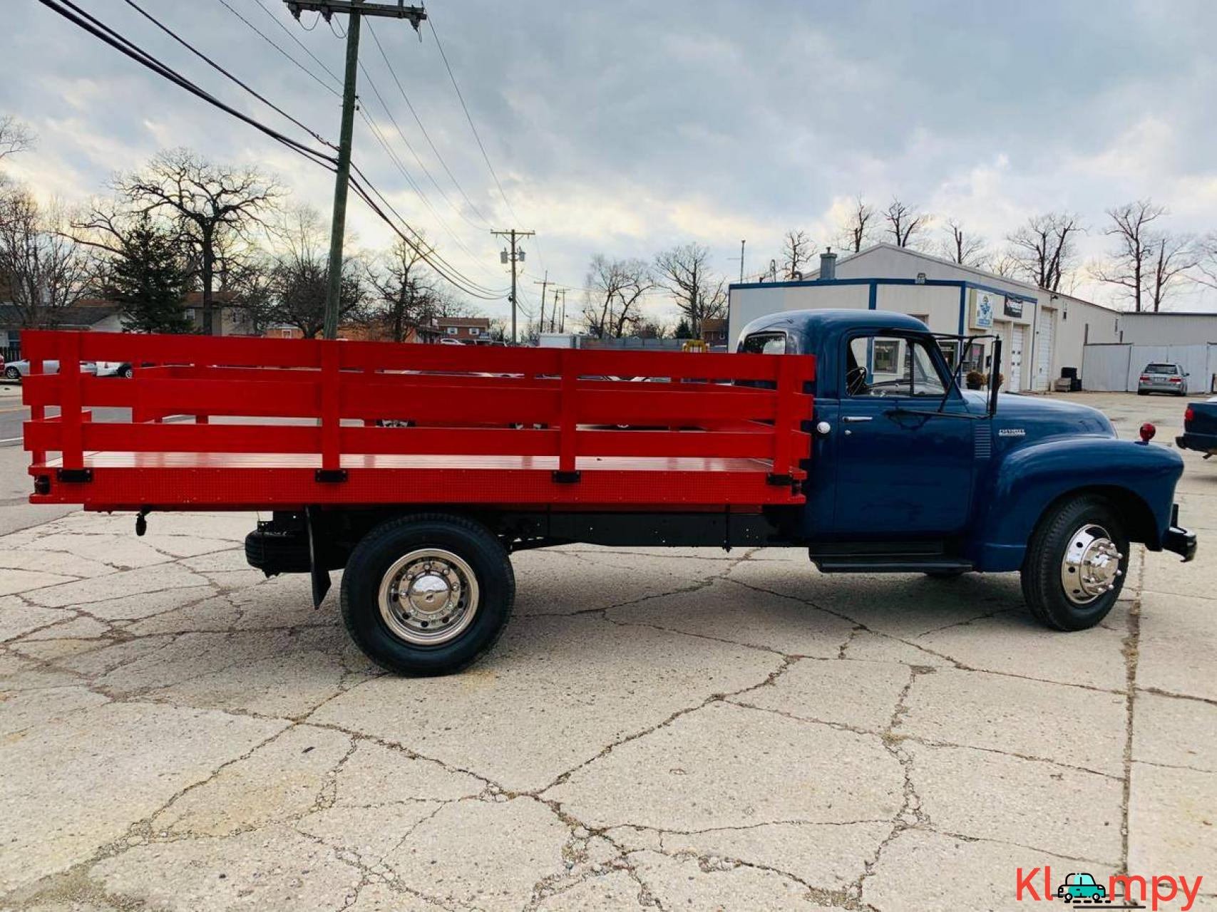 1951 Chevrolet Flat Bed Truck 235  6 CYL - 8/20