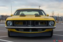 1974 Plymouth 'Cuda 496 Wedge V8