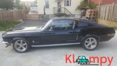 1968 Ford Mustang FASTBACK. BLACK ON BLACK