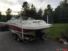2007 Sea Ray Sundeck 220 24 Feet 10 Passengers 196 Hours