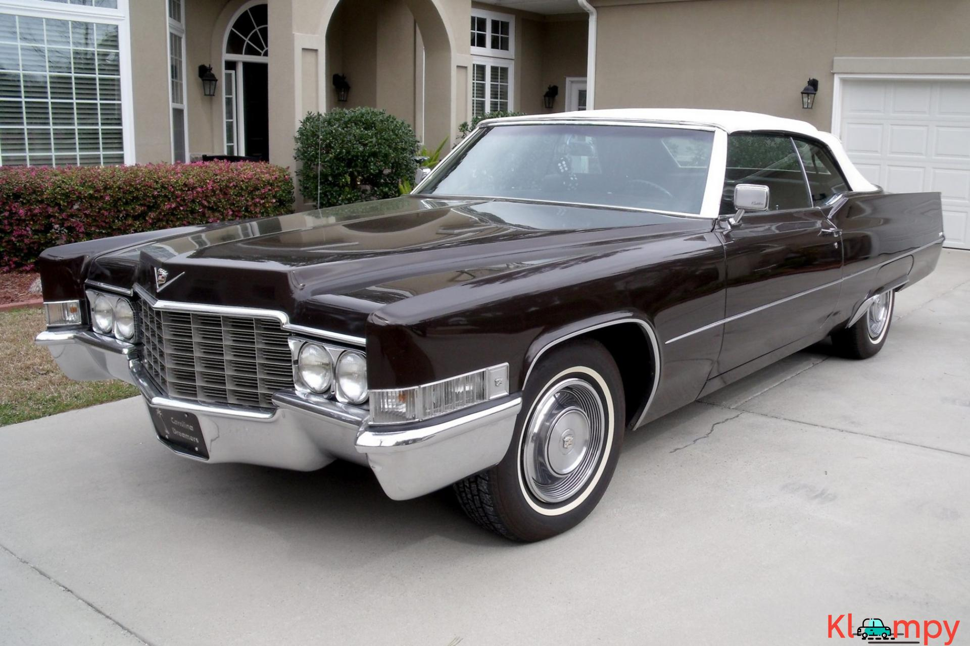 1969 Cadillac DeVille Convertible 472 3-Speed - 1/22