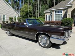 1969 Cadillac DeVille Convertible 472 3-Speed - Image 4/22