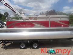 2013 Sunchaser 21 Pontoon Trailer Included Evinrude Engine DS 20