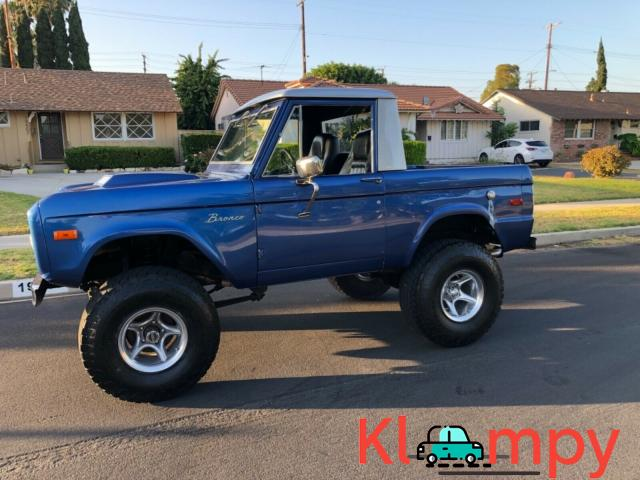 1976 Ford Bronco 4X4 MANUAL - 1/12